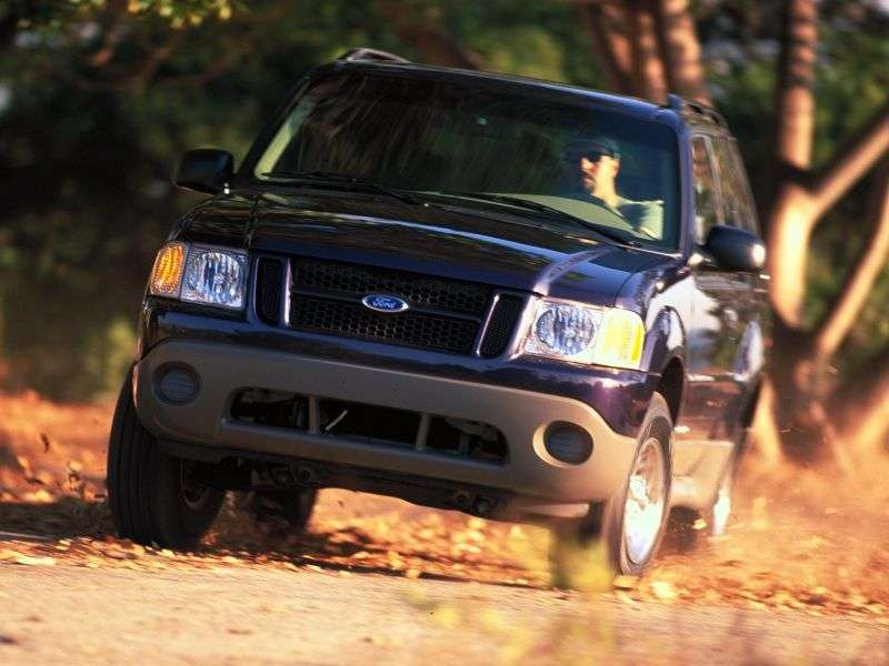 Ford Explorer 2nd generation [2nd restyling] Sport SUV 4.0 AT 4x4 (2001–2003)