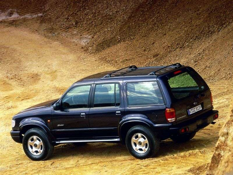 Ford Explorer 2 generation [restyling] SUV 5 doors 4.0 MT 4x4 (1999–2001)