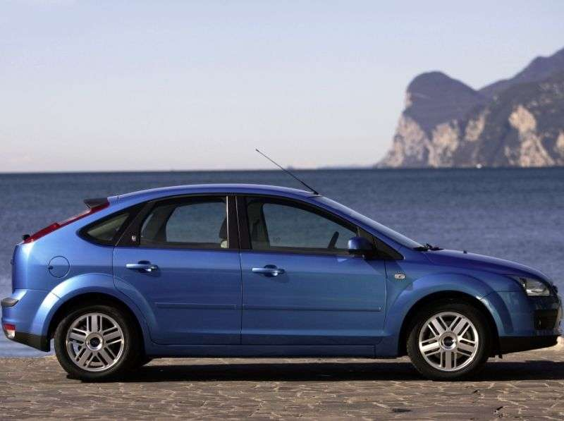 Ford Focus 2 generation hatchback 5 dv. 1.4 MT (2004–2008)