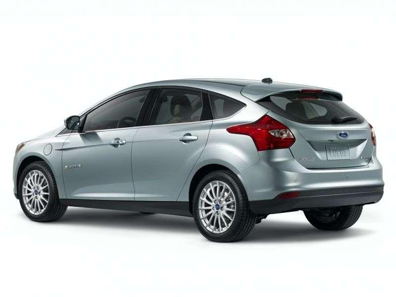 Ford Focus 3 generation Electric hatchback BEV (2011 – current century.)