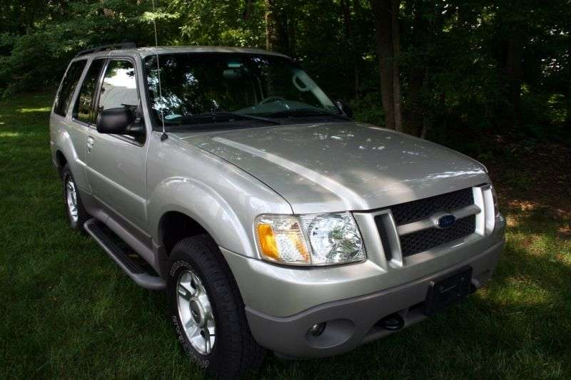 Ford Explorer 2nd generation [2nd restyling] Sport SUV 4.0 MT 4x4 (2001–2003)