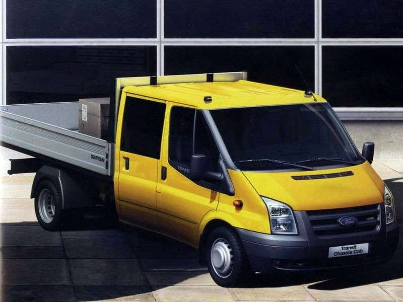 Ford Transit 6th generation Chassis Double Cab chassis 4 bit. 2.4 TDCi MT 350 EF Base (2006 – present)