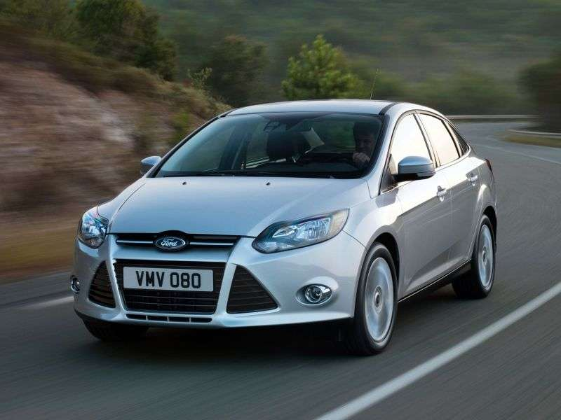 Ford Focus 3 generation sedan 2.0 MT (2011 – n. In.)
