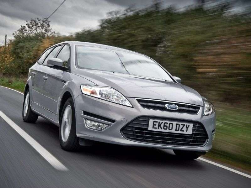 Ford Mondeo 4th generation [restyling] station wagon 2.0 MT Trend (2012) (2010–2013)