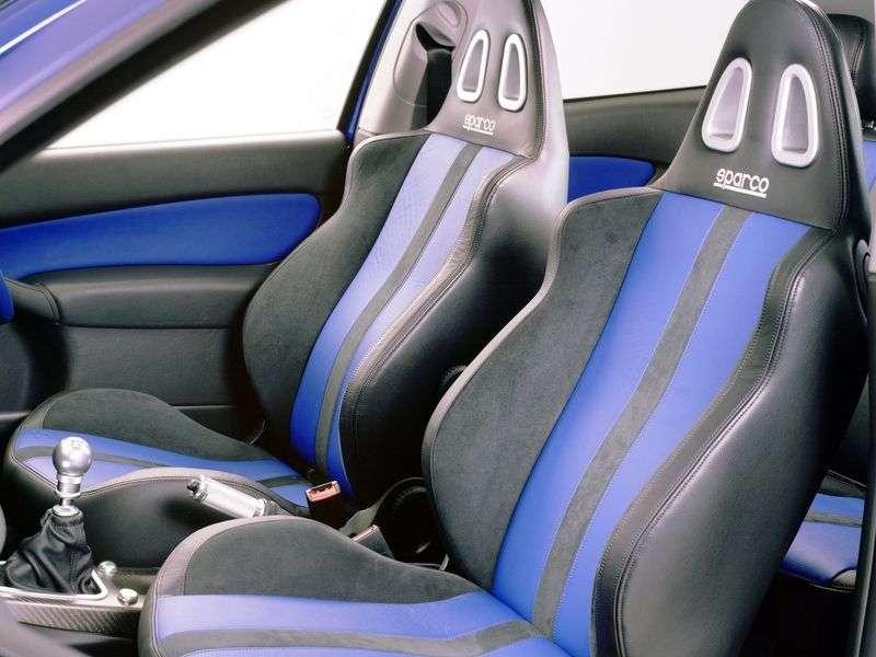 Ford Focus 1st generation [restyling] RS hatchback 3 bit. 2.0 MT (2002–2004)
