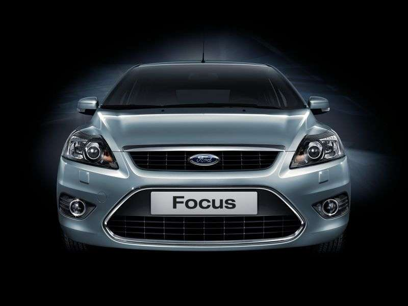 Ford Focus 2nd generation [restyling] 5 bit hatchback 1.4 MT Comfort (2008–2011)