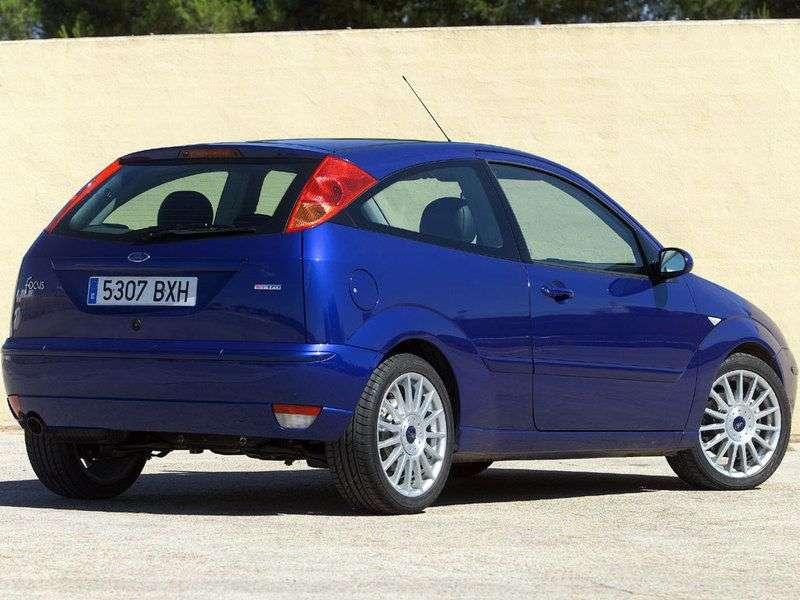 Ford Focus 1st generation [restyling] ST hatchback 3 dv. 2.0 MT (2002–2004)