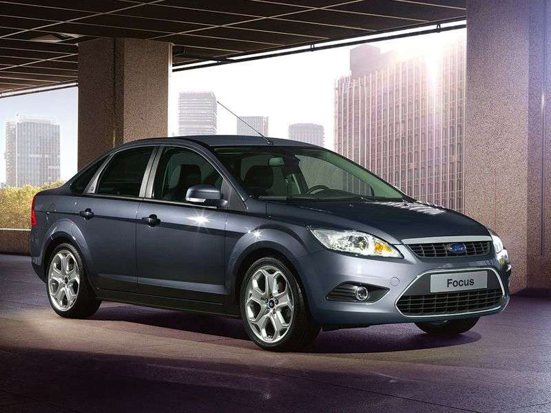 Ford Focus 2nd generation [restyling] sedan 2.0 AT Titanium (2008–2011)