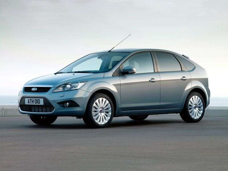 Ford Focus 2nd generation [restyling] 5 bit hatchback 1.8 FlexiFuel MT (2008–2011)