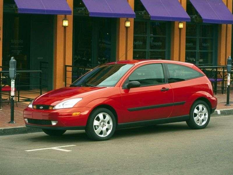 Ford Focus 1st generation Hatchback (USA) 3 in. Hatchback 2.0i MT ZX3 (1999–2004)