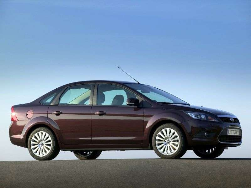 Ford Focus 2nd generation [restyling] 1.6 MT Titanium sedan (2008–2011)