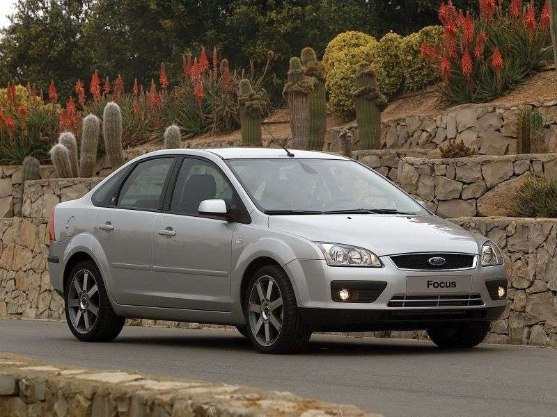 Ford Focus 2 generation sedan 4 doors 1.6 TDCi CVT (2005–2008)
