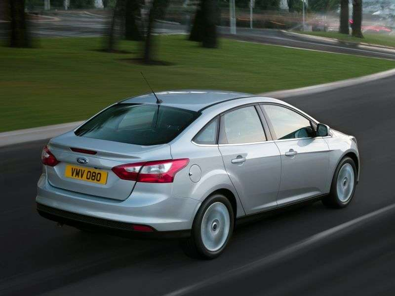 Ford Focus 3 generation sedan 1.6 MT Trend (2013) (2011 – n. In.)