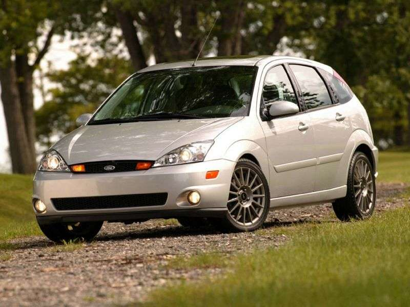 Ford Focus 1st generation Hatchback (USA) 5 bit hatchback 2.0i MT ZX3 (1999–2004)