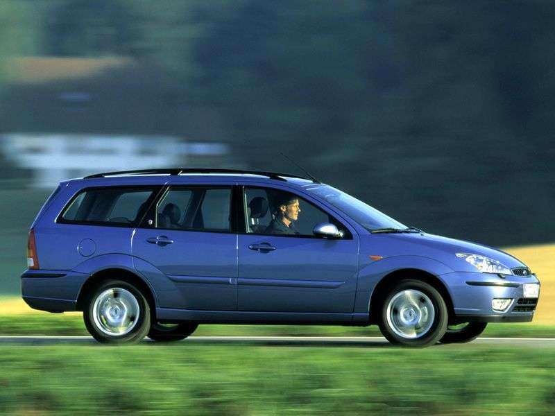 Ford Focus 1st generation [restyling] station wagon 2.0 MT (2001–2004)