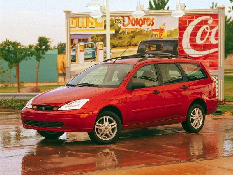 Ford Focus 1st generation Turnier (USA) wagon 2.0i MT SE (1999–2004)