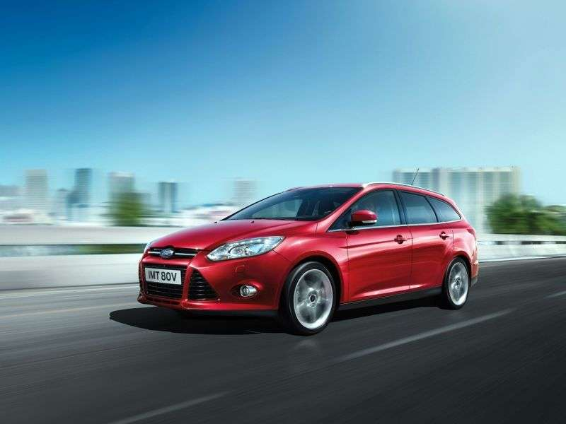 Ford Focus 3 generation wagon 5 bit. 1.6 MT Titanium (2013) (2011 – current century.)