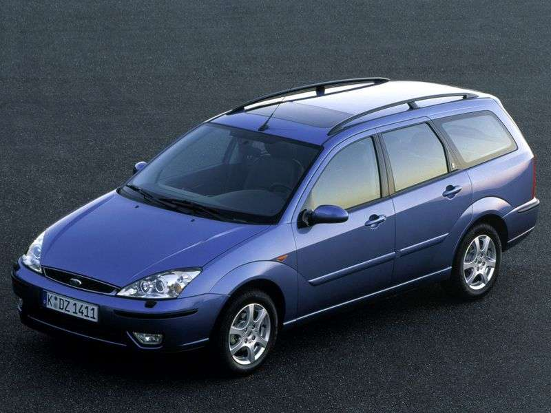 Ford Focus 1st generation [restyled] wagon 1.4 MT (2001–2004)