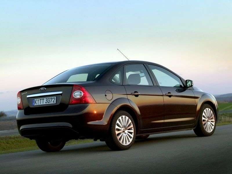 Ford Focus 2nd generation [restyling] 2.0 MT Comfort sedan (2008–2011)