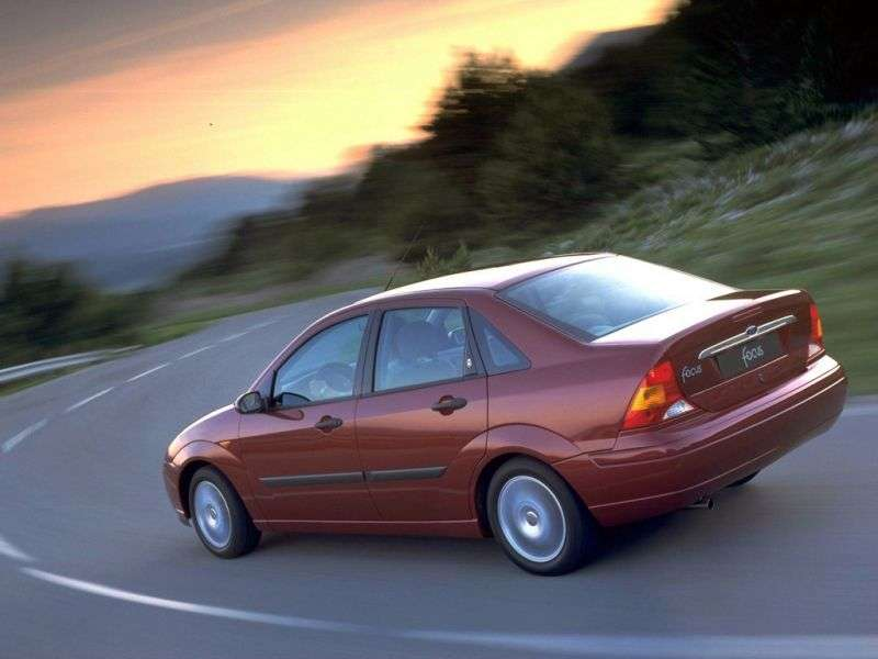 Ford Focus 1 generation 4 door sedan 1.8 MT TDCi (1998–2001)