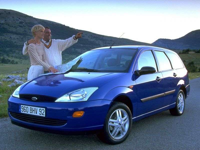 Ford Focus 1 generation Turnier wagon 5 bit. 1.6 MT (1998–2001)