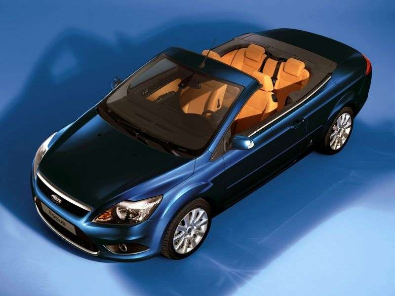 Ford Focus 2nd generation [restyling] CC Convertible 2.0 MT (2008–2010)