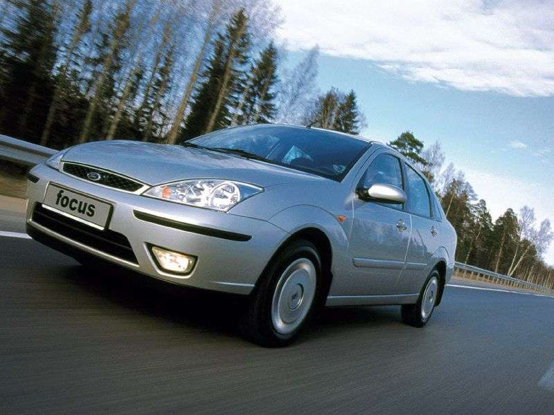 Ford Focus 1st generation [restyling] 1.6 MT sedan (2001–2004)