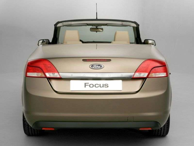 Ford Focus 2nd generation CC 1.6 MT convertible (2007–2008)