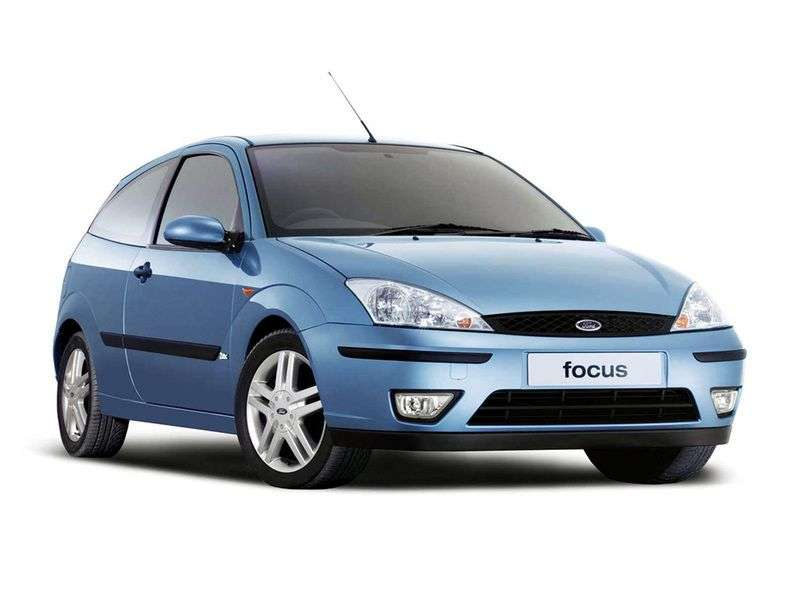 Ford Focus 1st generation [restyling] 3 bit hatchback 1.6 MT (2001–2004)