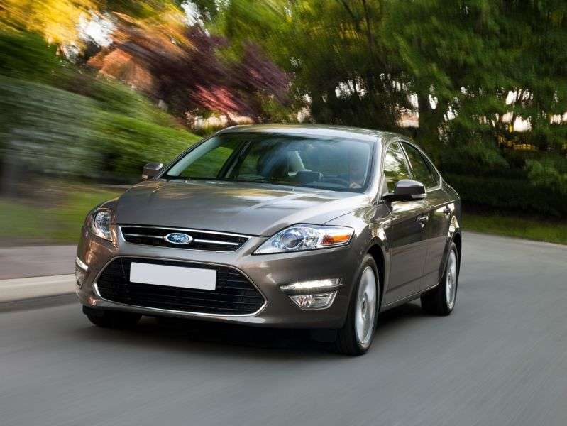Ford Mondeo 4th generation [restyling] 2.3 Duratec AT Anniversary 20 sedan (2010 – n.)
