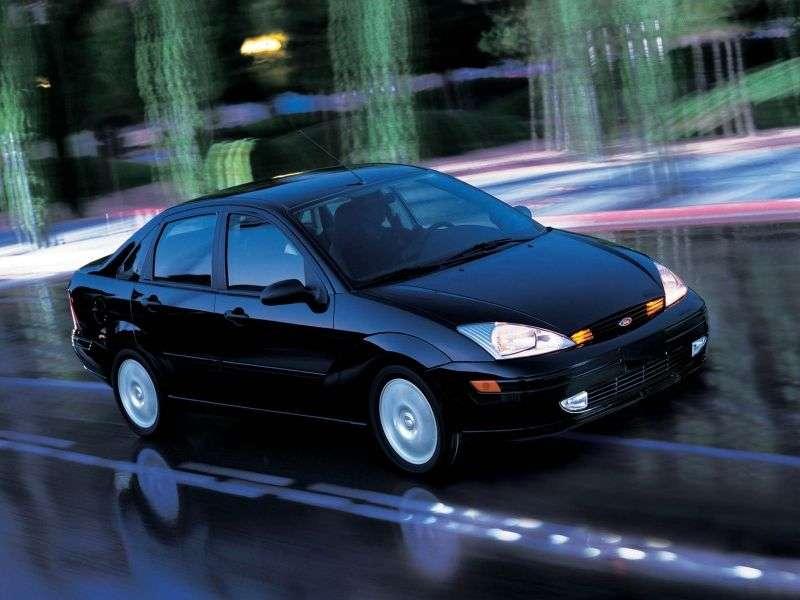 Ford Focus 1 generation Sedan (USA) 4 door sedan. 2.0i MT ZTS (1999–2004)