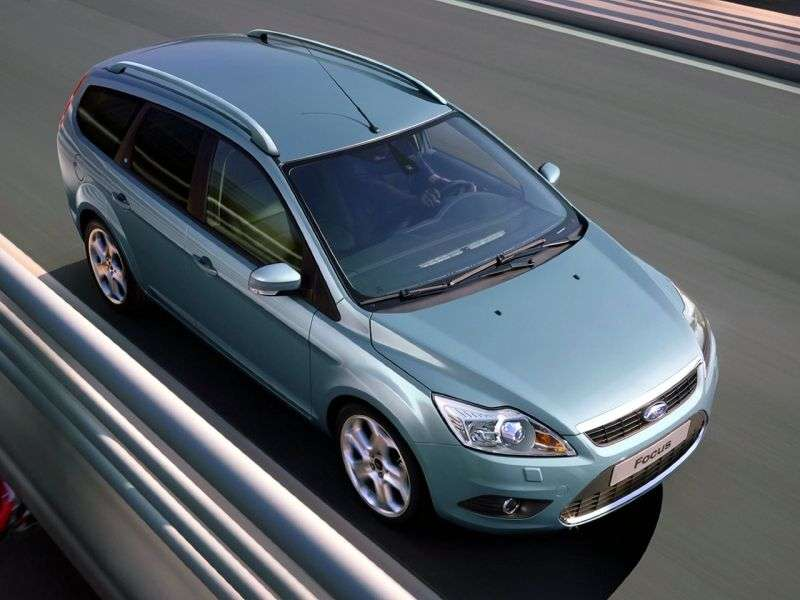 Ford Focus 2nd generation [restyling] wagon 5 bit. 1.8 MT Comfort (2008–2011)