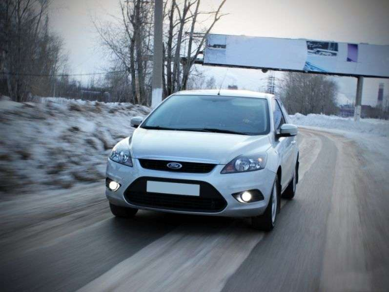 Ford Focus 2nd generation [restyling] 3 bit hatchback 1.8 FlexiFuel MT (2008–2011)