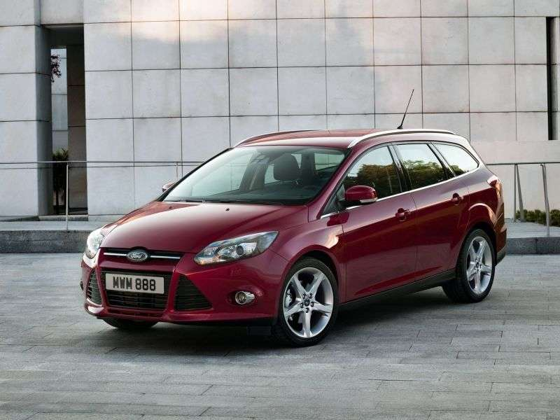 Ford Focus 3 generation wagon 5 bit. 1.6 PowerShift Trend Sport (2012) (2011 – present)