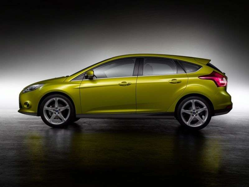 Ford Focus 3 generation hatchback 5 dv. 1.6 FlexiFuel MT (2013 – present)