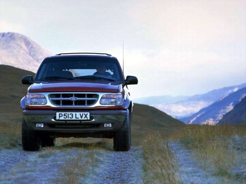 Ford Explorer 2 generation SUV 5 dv. 4.0 MT (1995–1999)