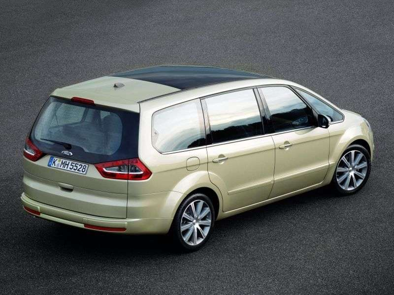 Ford Galaxy 2nd generation minivan 2.0 TDCi DuraShift (2008–2010)