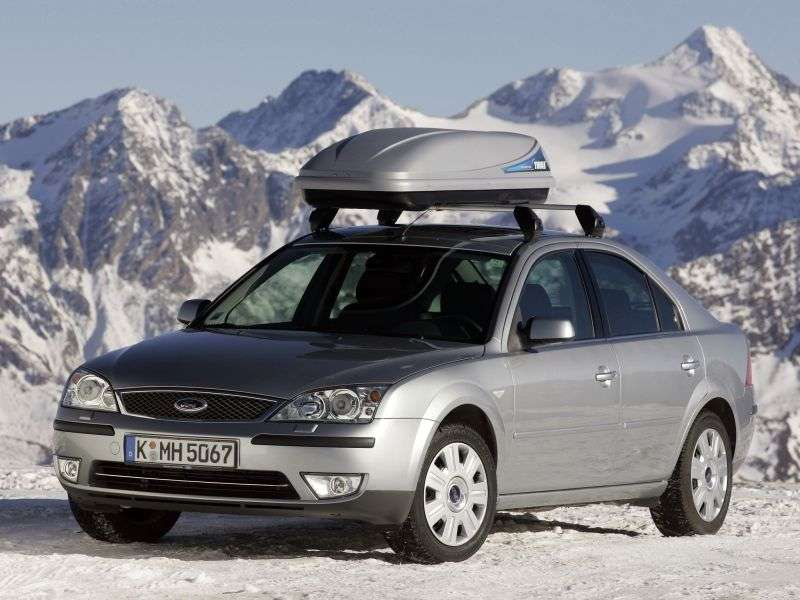 Ford Mondeo 3rd generation [restyled] hatchback 2.0 TDCi 6MT (2005–2007)