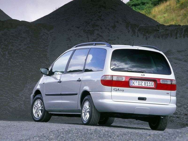 Ford Galaxy 1 generation minivan 5 dv. 2.8 AT (1995–2000)