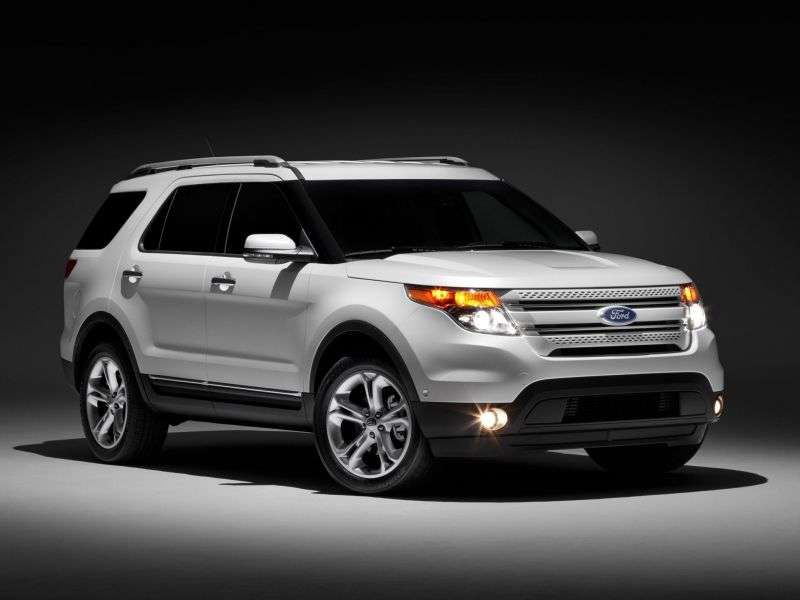 Ford Explorer 5 generation SUV 5 bit 3.5 SelectShift 4WD Limited (2013.5) (2010 – current century)
