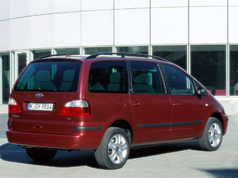 Ford Galaxy 1st generation [restyled] 2.3 MT minivan (2000–2003)