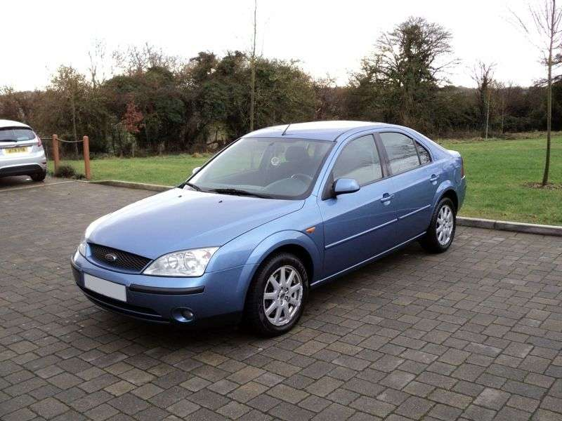 Ford Mondeo 3rd generation hatchback 2.2 TDCi MT (2003–2005)