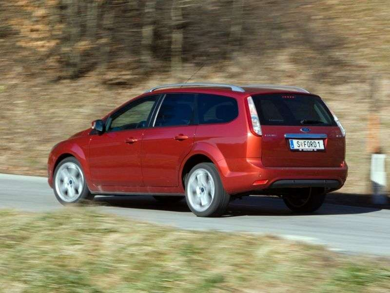 Ford Focus 2nd generation [restyling] wagon 5 bit. 2.0 AT Comfort (2008–2011)