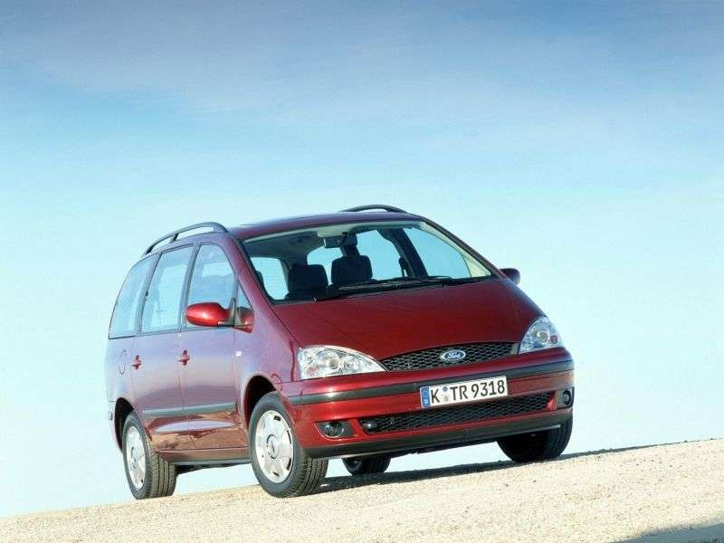 Ford Galaxy 1st generation [restyled] minivan 1.9 TDi MT (2003–2006)