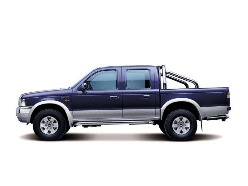 Czterodrzwiowy pickup Ford Ranger 2 generacji Double Cab 2.5 TD MT 4x4 (2003 2006)