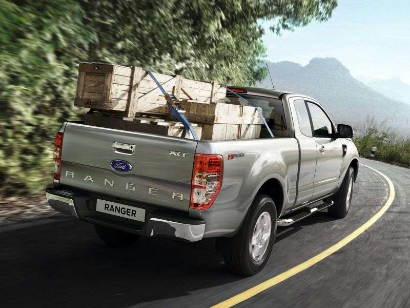 Ford Ranger 5th generation Rap Cab pick up 2 bit. 2.2 TD AT 4x4 Limited (2012 – current century)