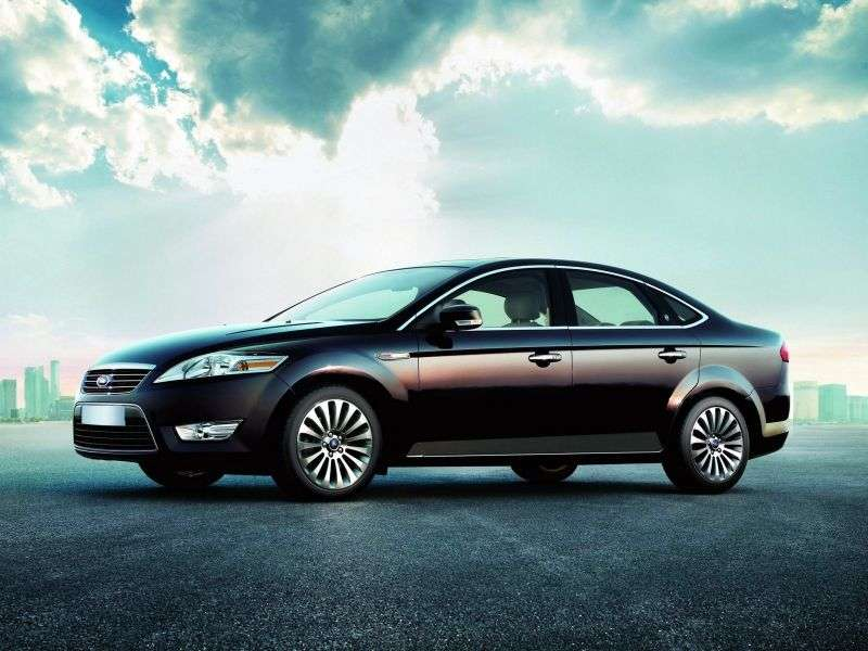 Ford Mondeo 4th generation sedan 2.0 TDCi DPF DurashiftMT (2007–2010)