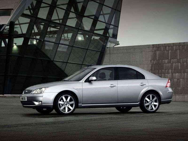 Ford Mondeo 3rd generation [restyled] hatchback 2.0 AT (2005–2007)