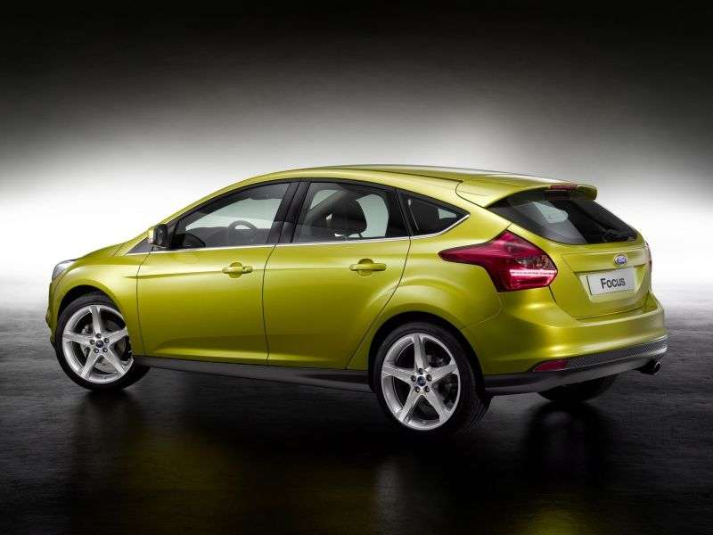 Ford Focus 3 generation hatchback 5 dv. 2.0 MT Trend (2013) (2011 – present)