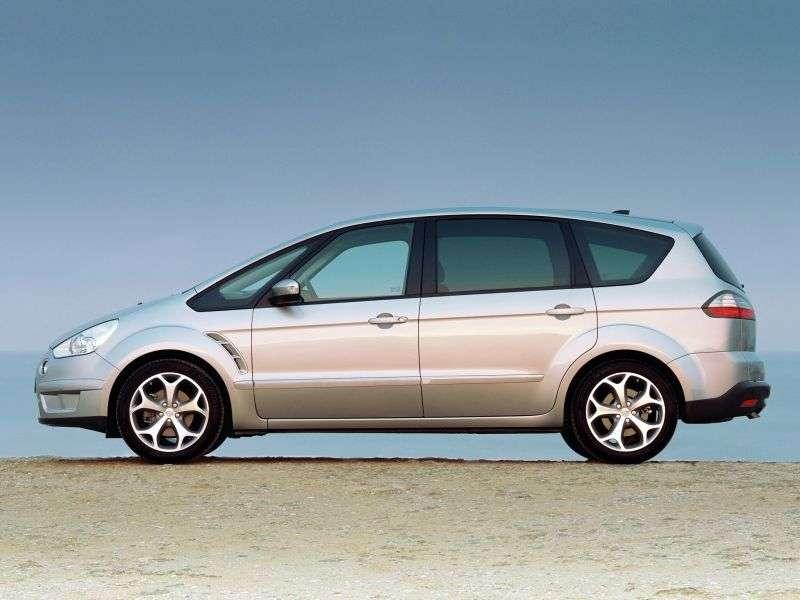 Ford S Max 1st generation minivan 2.0 TDCi DPF AT (2007–2008)